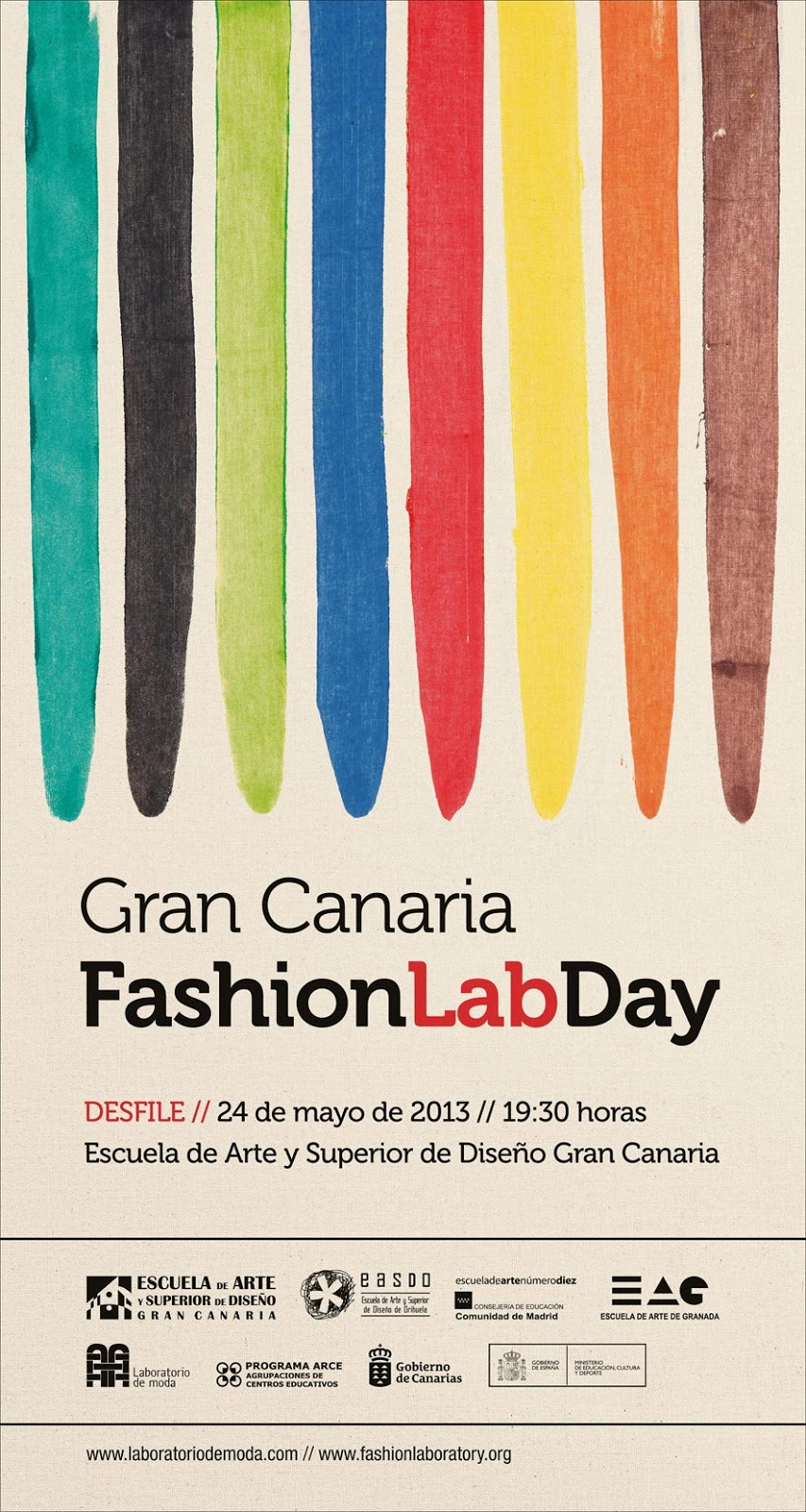 Cartel gran canaria fashion lab day